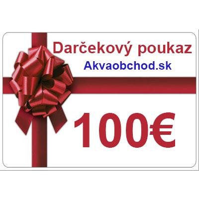 cd6b0d8e5 Darčekový poukaz 100€ [GIFT-100] - 99.17€ : Akvaristika AkvaObchod ...