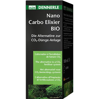 Dennerle Nano Carbo Elixier Bio, 250ml