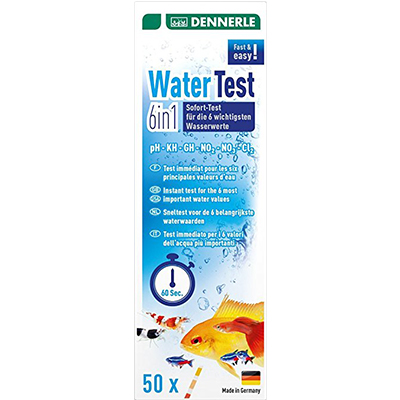 Dennerle WaterTest 6in1, 50 testov