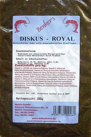 Benkers DISKUS-ROYAL 200g