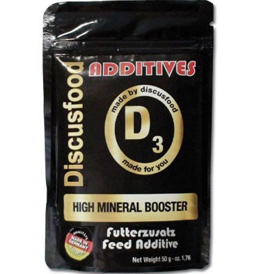 Discusfood additives D3 High Mineral Booster 50g