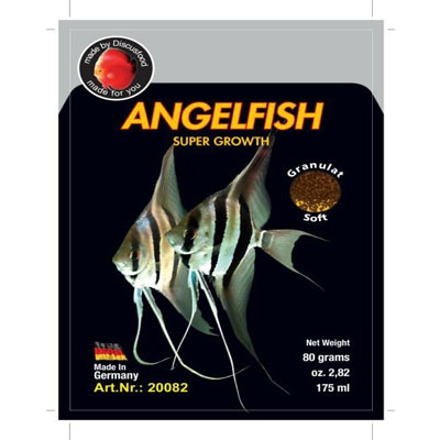 Discusfood Angelfish Supergrowth 80g