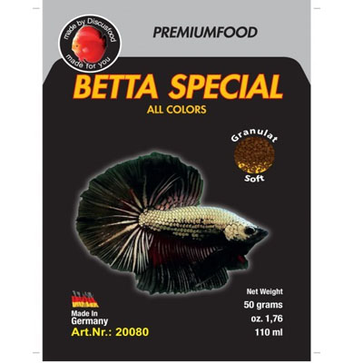Discusfood Betta Special ALL Colors 50g
