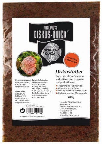 MIELINGS Diskus-Quick 500g