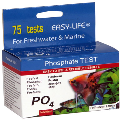 easy life Test po4 Phosphate (fosfát)