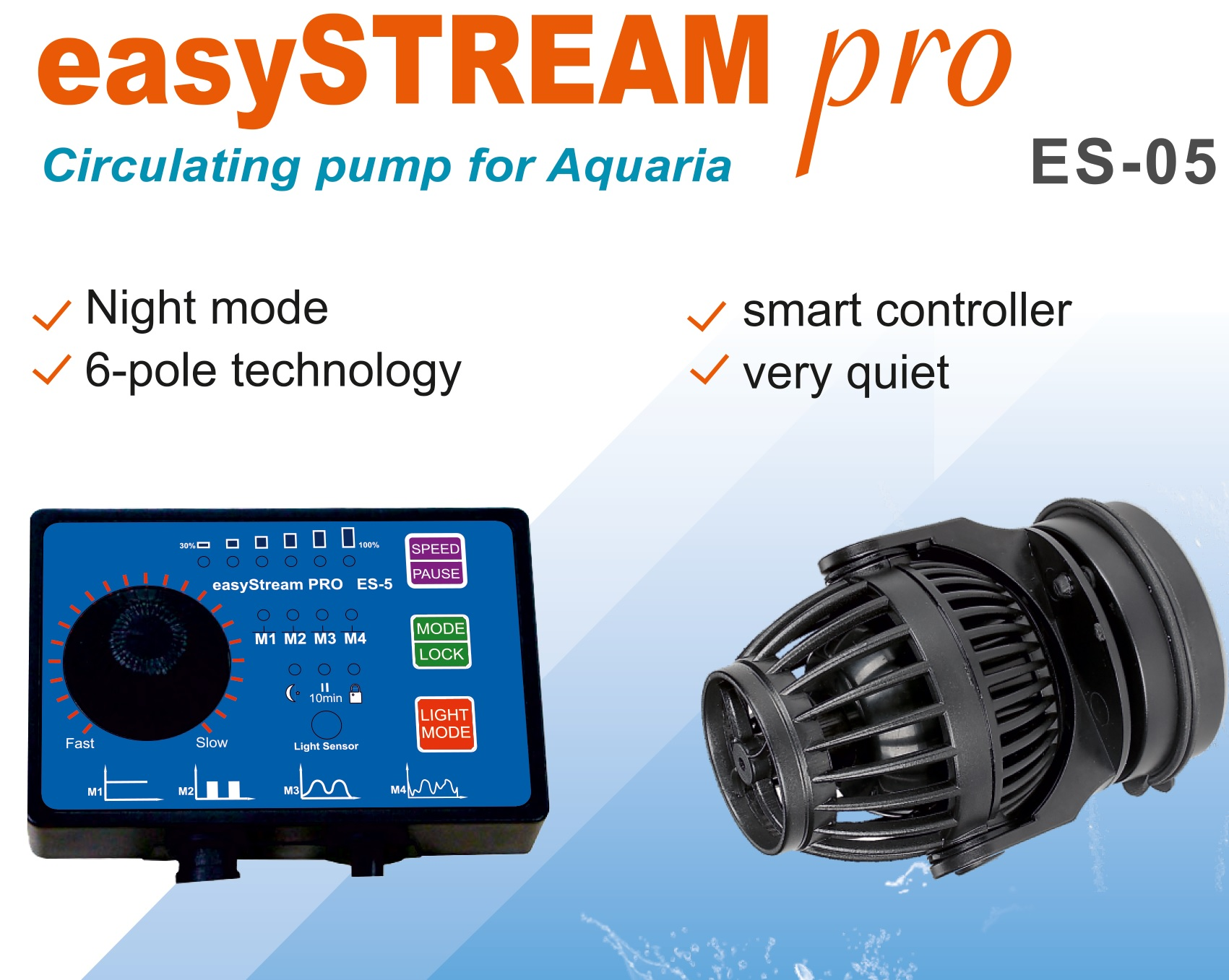 EasyStream pro 4000 wave maker