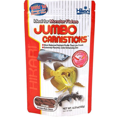Hikari tropical jumbo carnisticks 500g