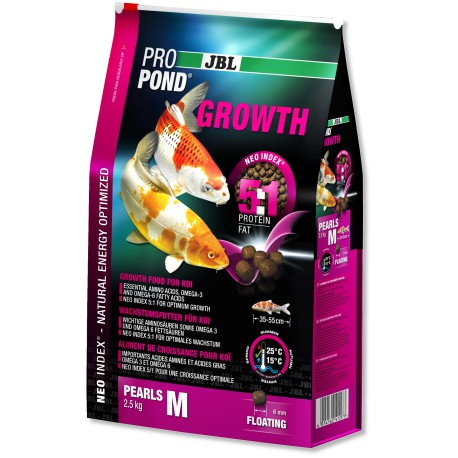 JBL ProPond Growth M 2,5kg-6L