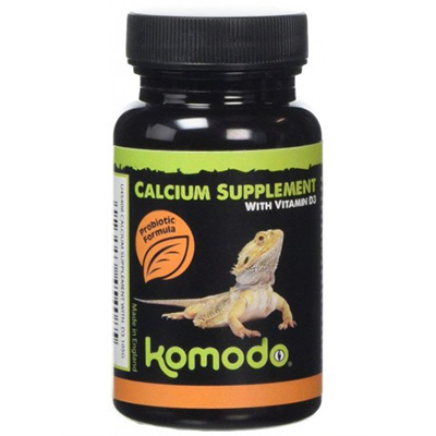 Komodo Calcium Supplements with D3 105g