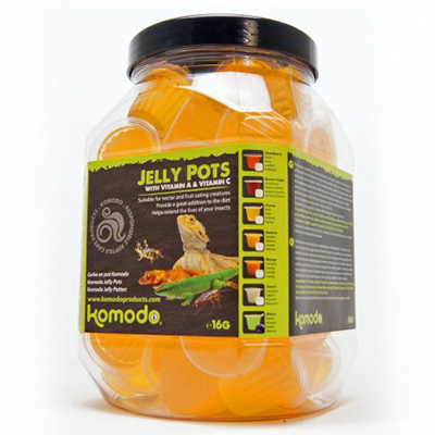 Komodo Jelly Pot Melon Jar 60ks