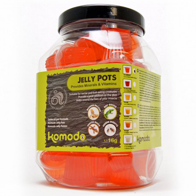 Komodo Jelly Pot Strawberry Jar 60ks