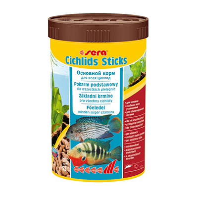 sera cichlids Sticks 1000ml