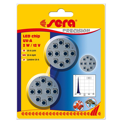 Sera LED chip UV-A 2 W / 12 V