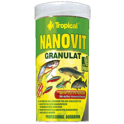 TROPICAL- Nanovit granulát 250ml