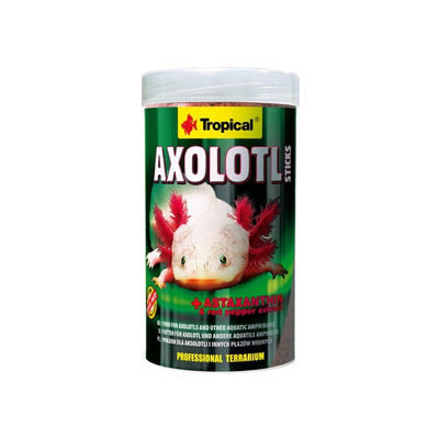 TROPICAL-AXOLOTL Sticks 250ml/135g