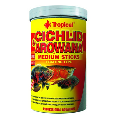 TROPICAL-CichlidArowanaMed.Sticks 500ml