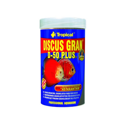 TROPICAL-Discus gran D-50 Plus 1000ml/440g