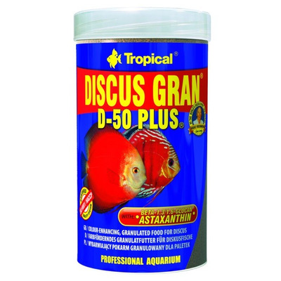 TROPICAL-Discus gran D-50 Plus 250ml/110g