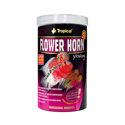 TROPICAL- Flower Horn Young Pellet 250ml/95g