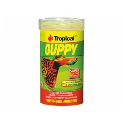 TROPICAL-Guppy 100ml/20g