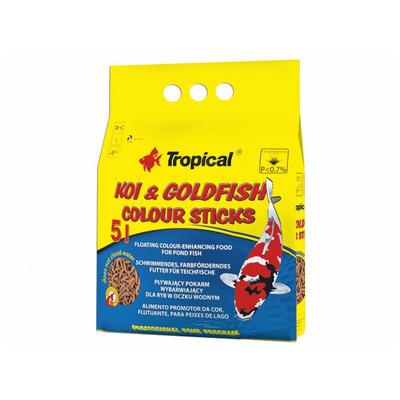 TROPICAL-POND Koi-goldfish Colour sticks 5L