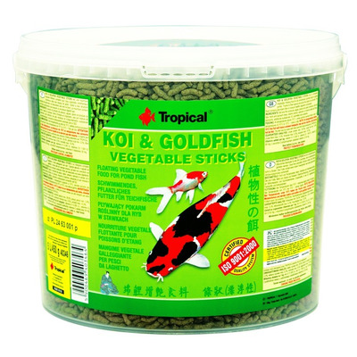 TROPICAL-POND Koi-Goldfish Spirulina sticks 5L/450g