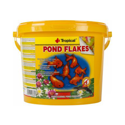TROPICAL-POND FLAKES 5L/800g