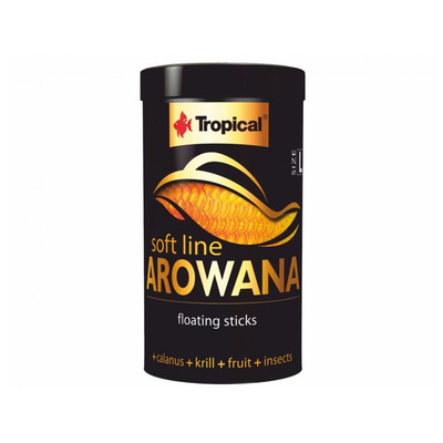 TROPICAL-Soft Line Arowana Size L 250ml/80g