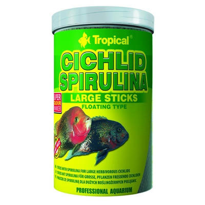 TROPICAL-Cichl.Spirul.LargeSticks 250ml/75g