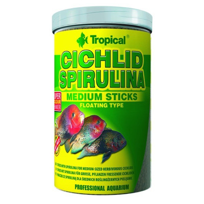 TROPICAL-Cichl.Spirul.MediumSticks 250ml/90g