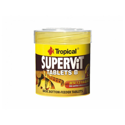 TROPICAL-Supervit Tablets B 250ml/150g cca 830 tab.