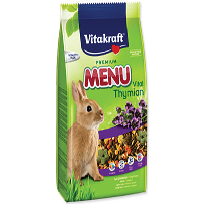 Menu VITAKRAFT rabbit Thymian bag - 1kg